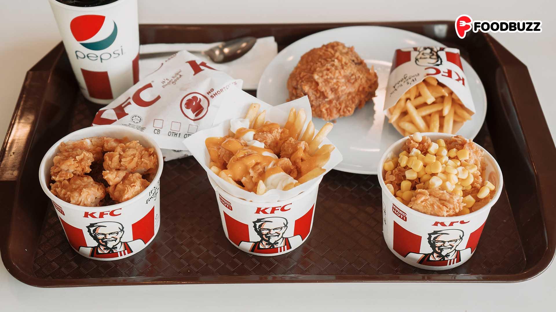 KFC BOWLs ត្រឡប់មកវិញហើយ! មានទាំងរសជាតិថ្មី GO BOWL មកជាមួយទៀត!
