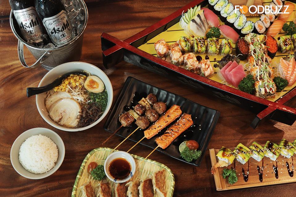 មិនបាច់ទៅដល់ជប៉ុនក៏បាន ឲ្យតែមាន Sushi Chef រសជាតិពិតៗតែម្តង