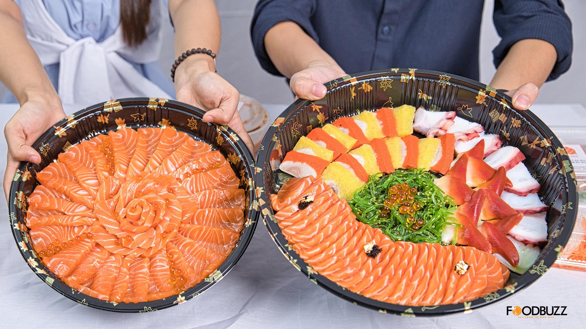 ចង់បានត្រីសាល់ម៉ុន ពងត្រី ដៃមឹក ឬសារាយសមុទ្រស្រស់ៗកុំភ្លេច Home Salmon