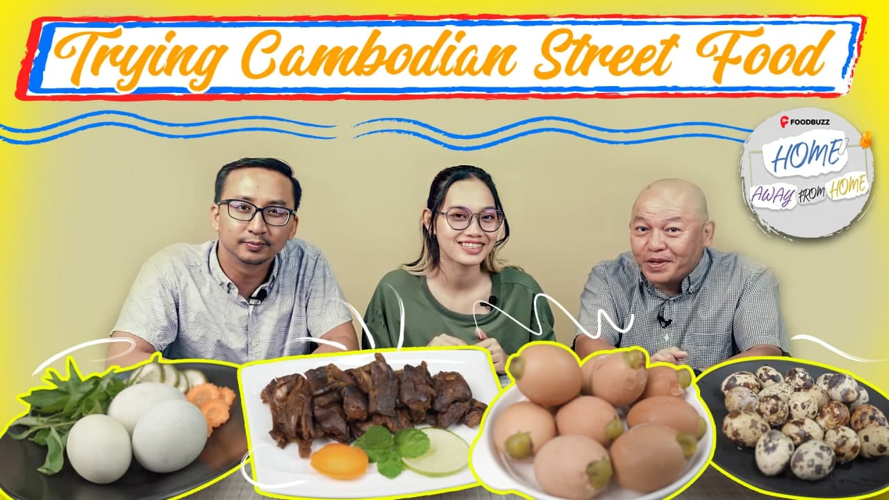 Khmer Street Food Reaction!
