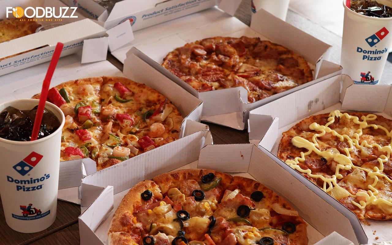 ទិញភ្លាម ថែមភ្លាម! Domino's Pizza មានប្រូម៉ូសិនទិញ 1 ថែម 1 រយៈពេល 1 សប្តាហ៍ពេញ