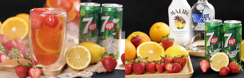 ដាក់តិចកាត់ស្រេ្តស! តោះរៀនធ្វើ 7UP Jungle Juice ទុកញ៉ាំនៅផ្ទះល្ងាចៗឡើង