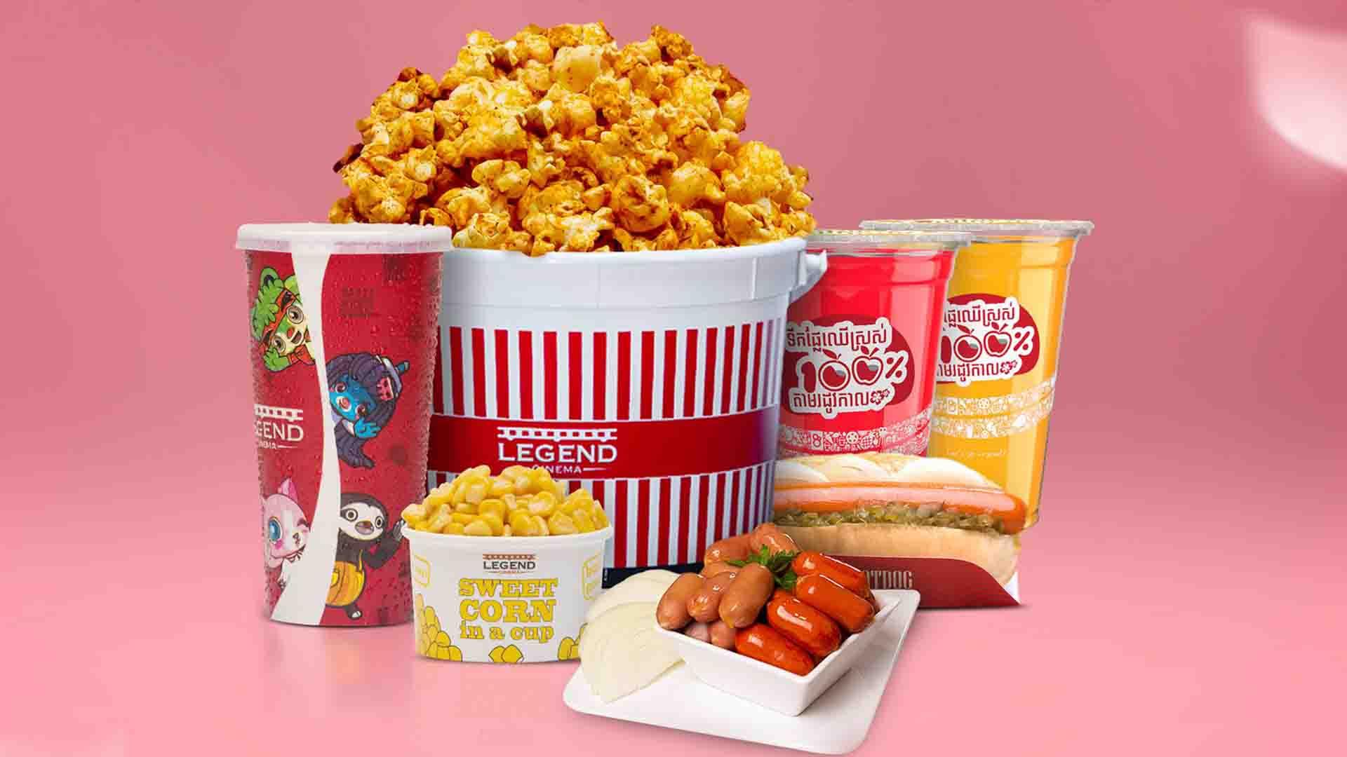 ត្រឡប់មកវិញហើយ! ជាមួយឈុតពិសេស Popcorn after Vaccines ពី Legend