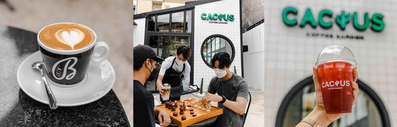 Cactus Coffee Garden៖ ហាងកាហ្វេទើបបើកថ្មីមានដើមប្រទាលជាតារតុបតែងគោល បែបធម្មជាតិទាន់សម័យ