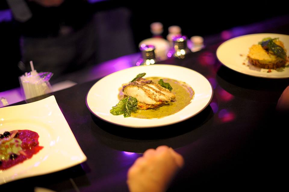 Dishes from Dine In the Dark Restaurant