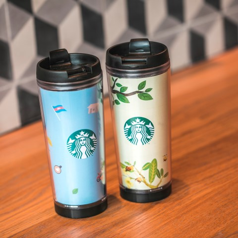 Starbucks + Let's Read Tumbler available on sale at every Starbucks locations