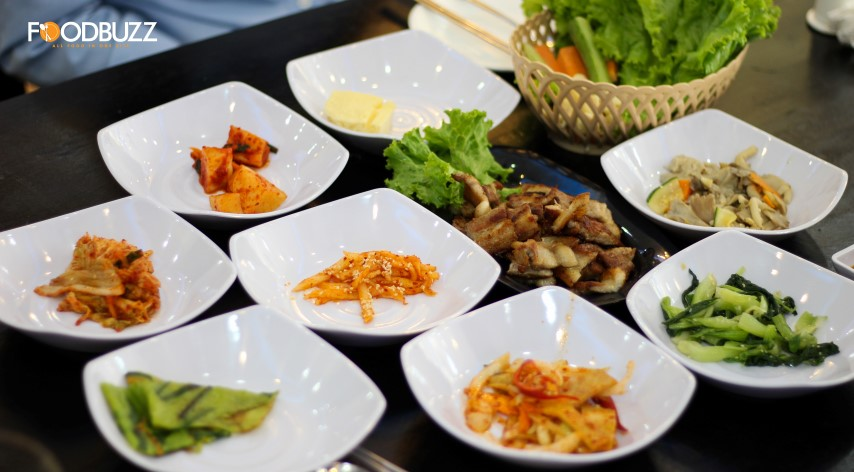 Eat all you want with Samgyeopsal for 6$ per person