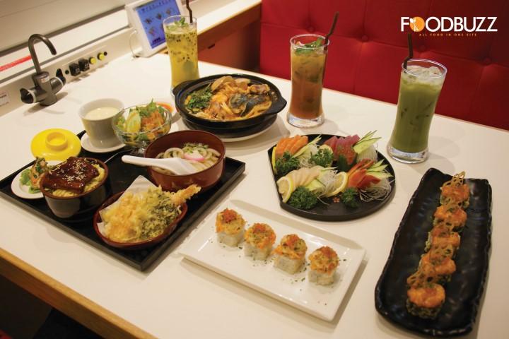 មកសាកមុខម្ហូបថ្មីរបស់ Genki Sushi ជាមួយ FoodBuzz