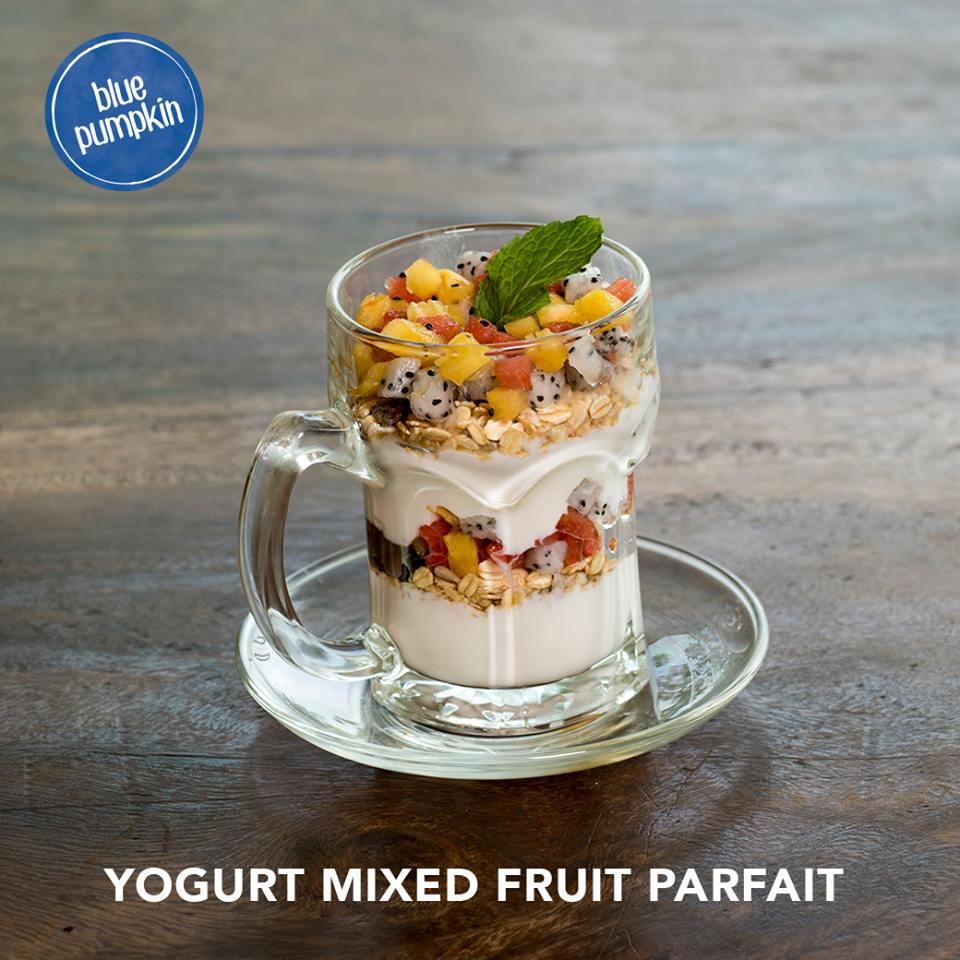 Yogurt Mixed Fruit Parfait