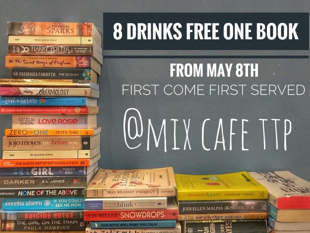 កុំភ្លេចមក Mix Cafe ណា!
