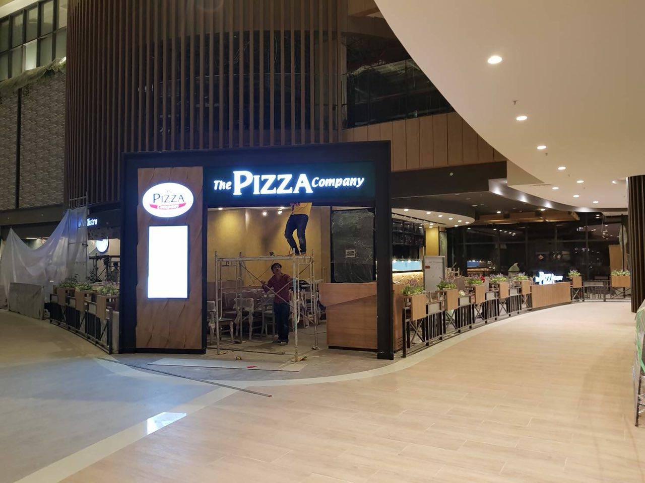 The Pizza Company នឹងបើកដំនើរការឆាប់ៗនេះហើយនៅ AEON សែនសុខ