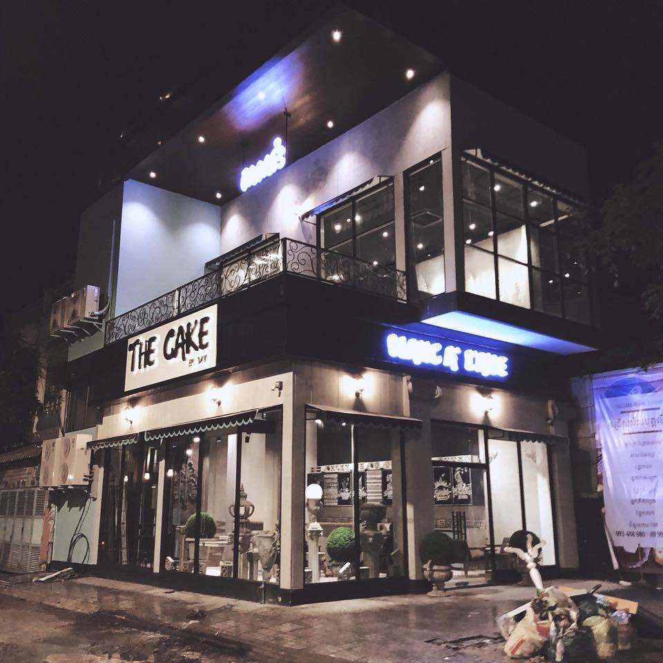 TheCake x Blanc a l'aise
