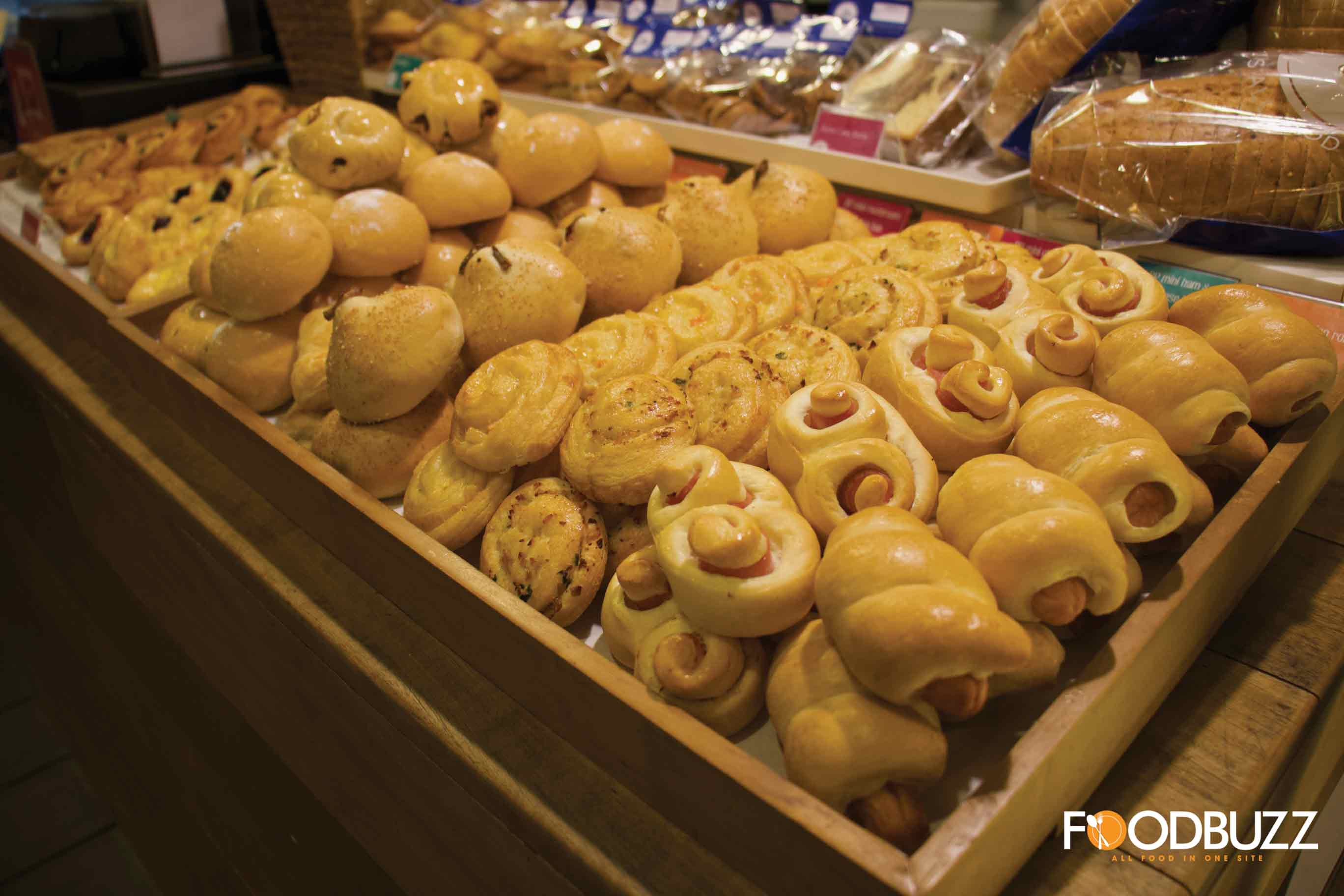 Warmly made Pastry from Blue Pumpkin