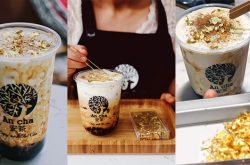 """""""Golden"""" Milk Tea That Will Make You Feel One Step Closer to Marrying A Billionaire"""