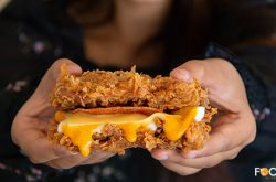 Rejoice, Meat Lovers! The KFC's Zinger Double Down Is Now Here in Cambodia